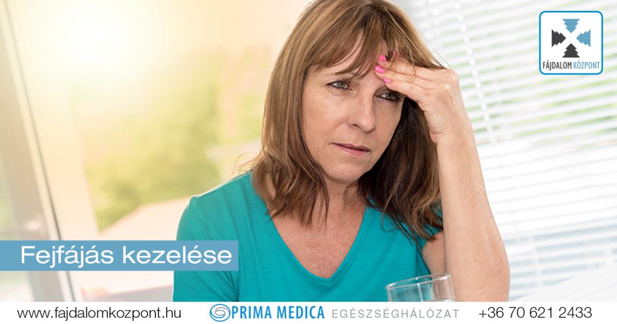 ízületek és fejfájás sólyom ízületi kezelés
