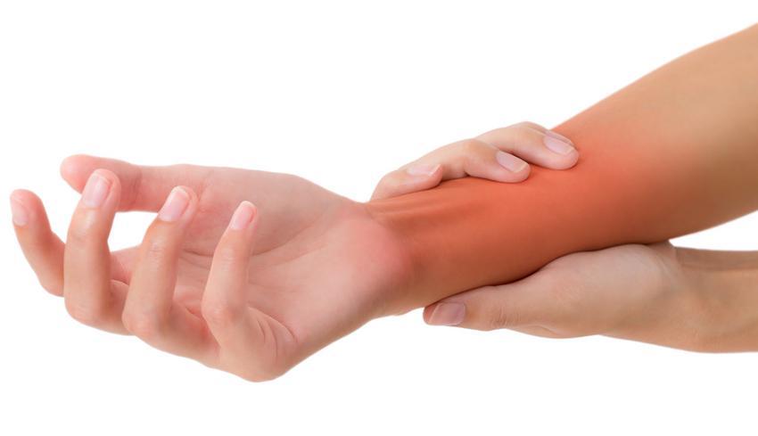 duzzadt hüvelykujj kezelés