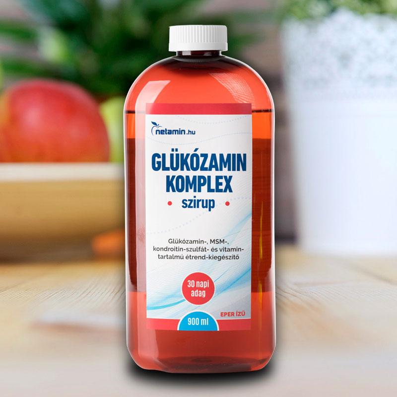 glükózamin vitaminok kondroitin áron hogyan kezelik az ízületi rázkódást